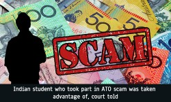 Indian student who took part in ATO scam was taken advantage of court told