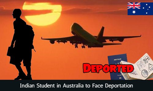 Indian Student in Australia to Face Deportation