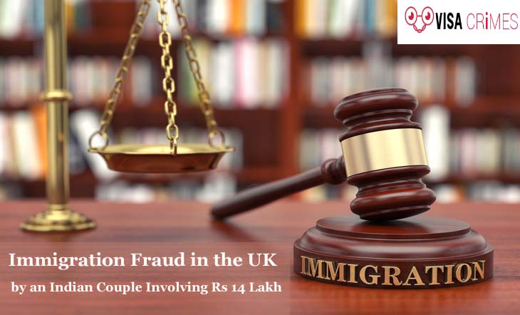 Immigration Fraud in the UK by an Indian Couple Involving Rs 14 Lakh