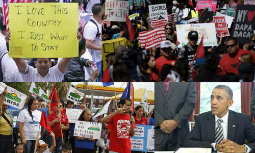 Indo-Americans join anti-deportation rally in the US