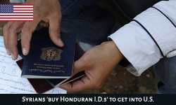 Syrians, Palestinians seeking the route of Honduras to enter US illegally