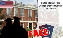 United State of Fake College Expose students Visa Tricks