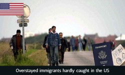 Overstayed immigrants hardly caught in the US