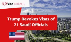 Trump Revokes Visas of 21 Saudi Officials