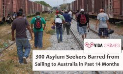 300 Asylum Seekers Barred from Sailing to Australia in Past 14 Months