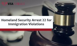 Homeland Security Arrest 22 for Immigration Violations