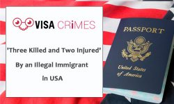 Three Killed and Two Injured' By an Illegal Immigrant in USA