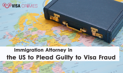 Immigration Attorney in the US to Plead Guilty to Visa Fraud