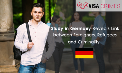 Study in Germany Reveals Link between Foreigners, Refugees and Criminality