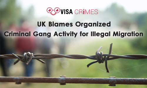 UK Blames Organized Criminal Gang Activity for Illegal Migration