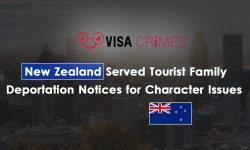 New Zealand Served Tourist Family Deportation Notices for Character Issues