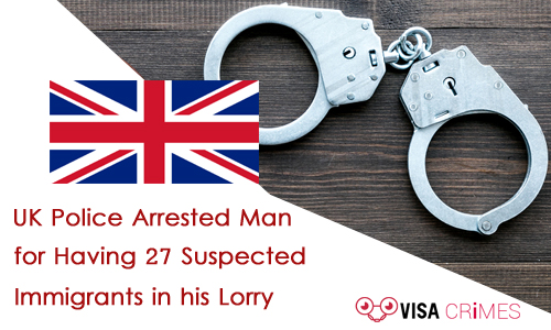 Man arrested for links with suspected Immigrants