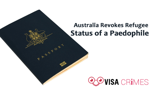Australia: Man's Visa Canceled Following Conviction for Sex with a Minor