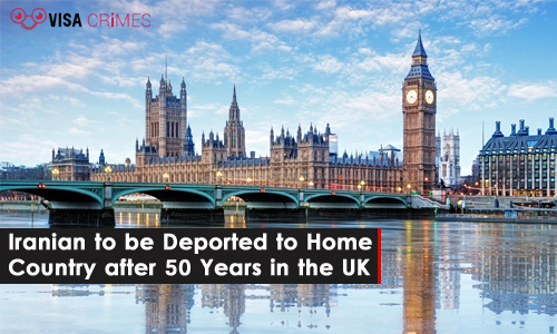Iranian to be Deported to Home Country after 50 Years in the UK